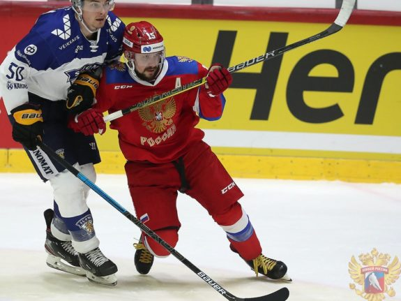 Anatoli Golyshev Team Russia