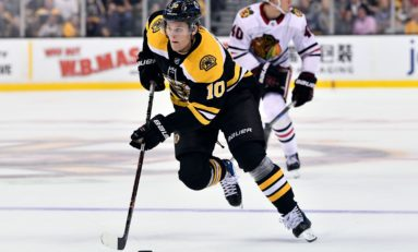 Bjork Making Most of Opportunity with Bruins