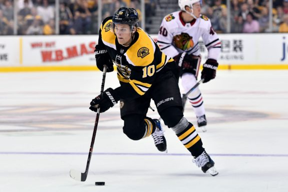 Anders Bjork Bruins