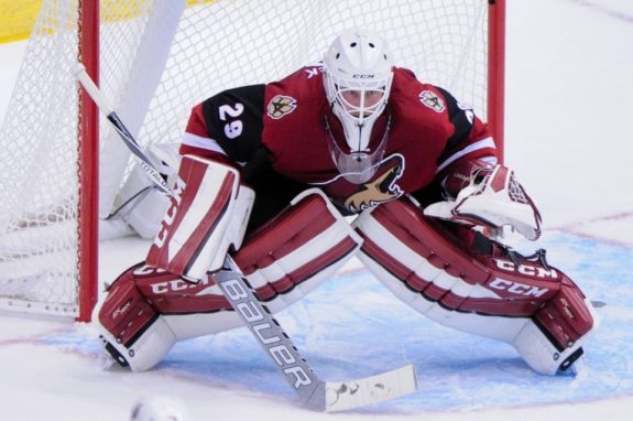 Anders Lindback (Matt Kartozian-USA TODAY Sports)