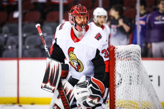 Anders Nilsson Ottawa Senators