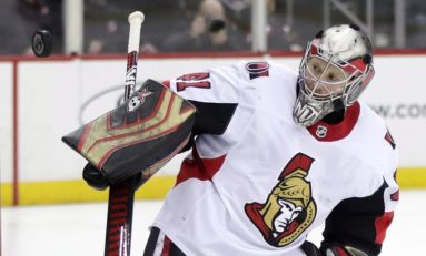 Capitals Could Find Veteran Backup in Craig Anderson