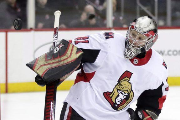 Ottawa Senators Craig Anderson