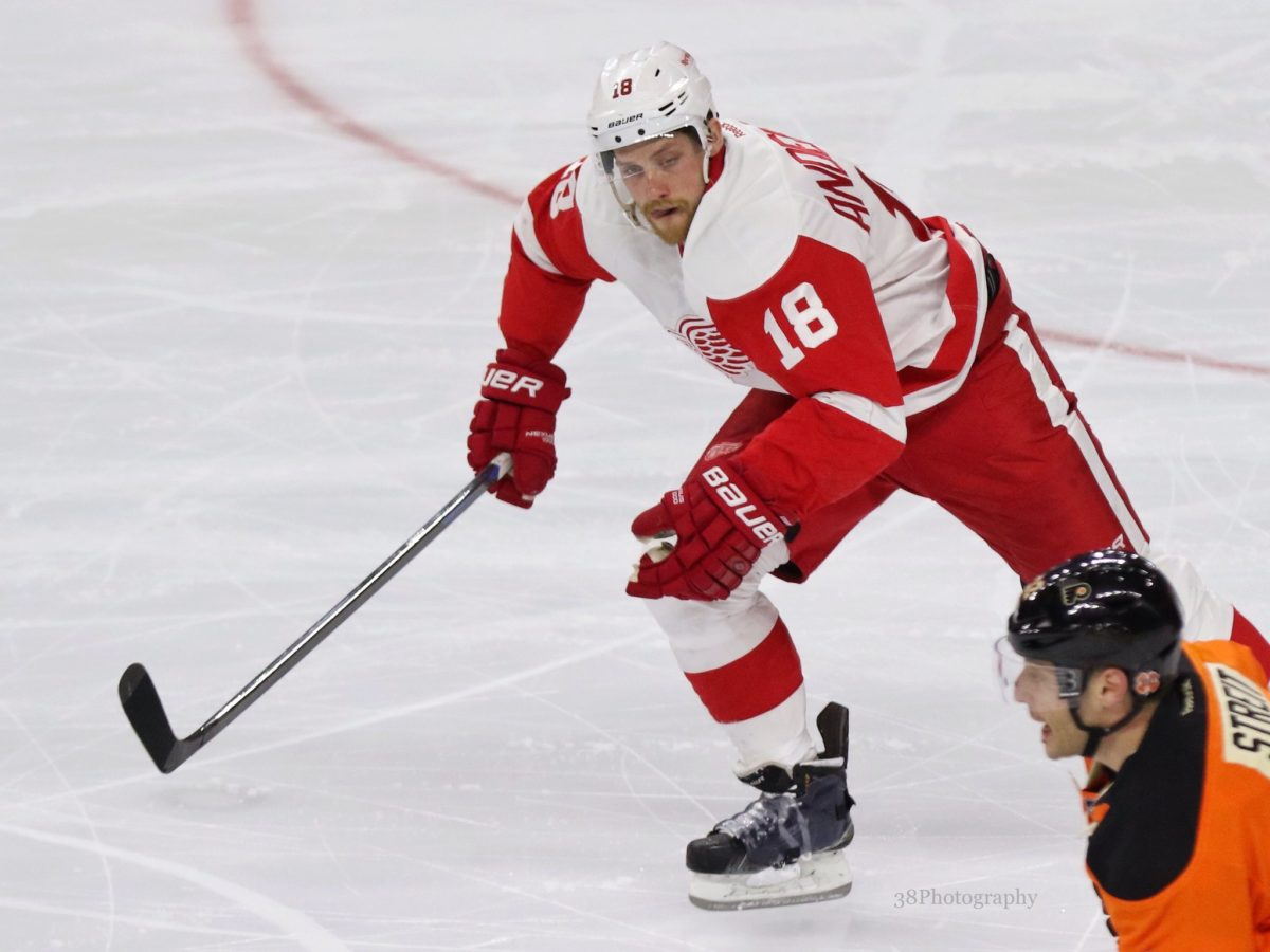 Joakim Andersson Detroit Red Wings