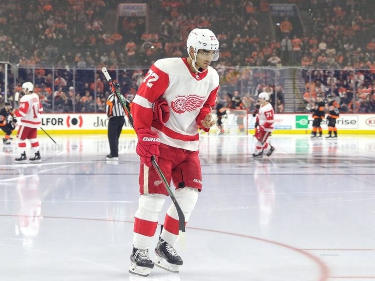 Andreas Athanasiou Detroit Red Wings
