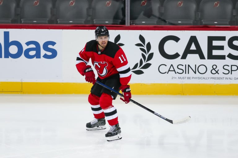 Andreas Johnsson New Jersey Devils