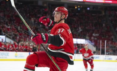 Hurricanes Surging Thanks to New-Look Top Line