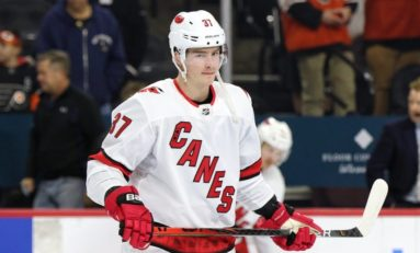 Svechnikov's Overtime Winner Lifts Hurricanes over Wild