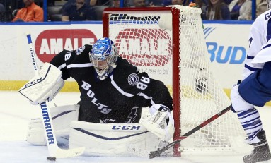 Lightning in Good Shape Between the Pipes
