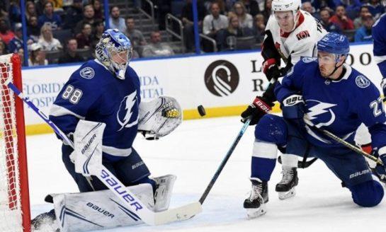 Senators Bury Lightning With 4-Goal 3rd Period