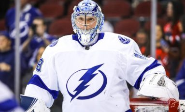 Andrei Vasilevskiy, Tony DeAngelo, Cam Talbot Named 3 Stars of Week