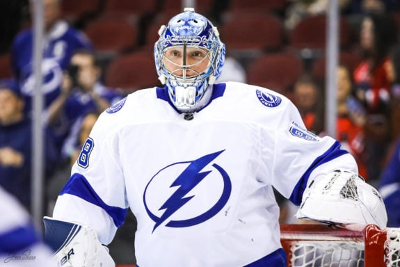 Andrei Vasilevskiy Tampa Bay Lightning
