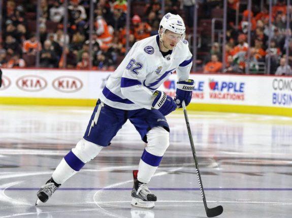 Andrej Sustr #62, Tampa Bay Lightning