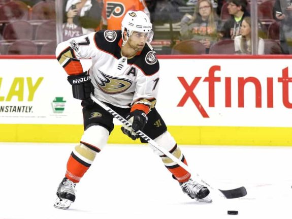 Andrew Cogliano when he played for the Ducks
