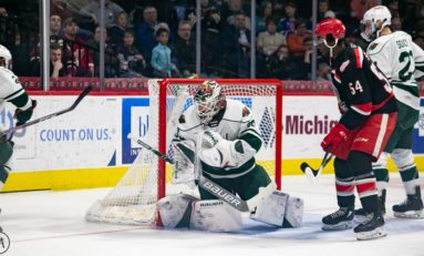 AHL Central News: Hammond Puts Wild on His Back