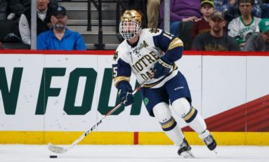 Sabres Ink Notre Dame's Oglevie to ELC