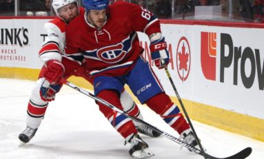 Canadiens Deal Shaw Back to Blackhawks