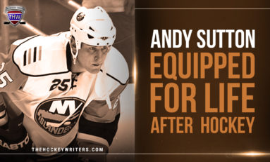 Andy Sutton Equipped For Life After Hockey