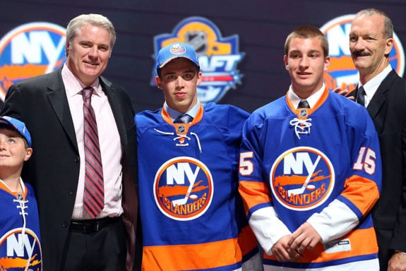 Anthony Beauvillier New York Islanders 2015 NHL Draft