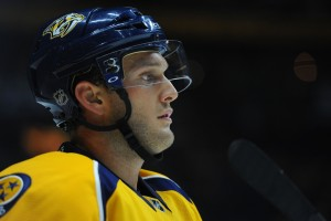 Defenseman Anthony Bitetto has been out since October with a broken hand (Christopher Hanewinckel-USA TODAY Sports)