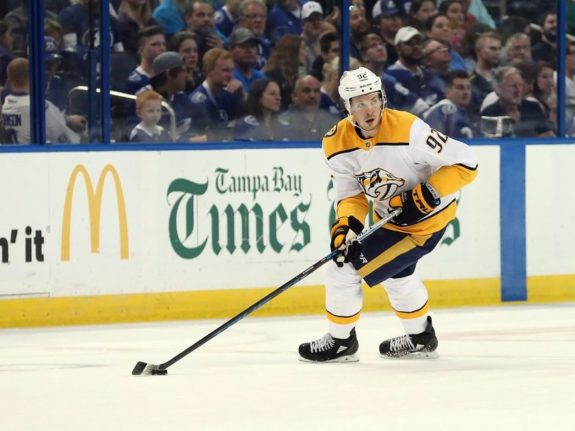 Predators defenseman Anthony Bitetto