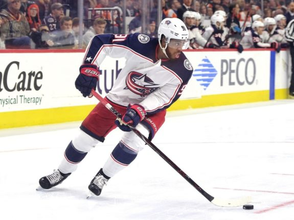 Anthony Duclair #91, Columbus Blue Jackets