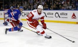 Anthony Mantha's 4th goal Gives Red Wings 4-3 Win over Stars