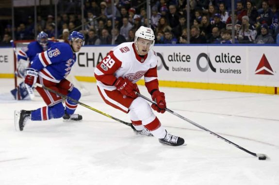 Detroit Red Wings right wing Anthony Mantha
