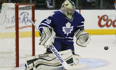 PHOTO: Antoine Bibeau Pays Tribute to Former Maple Leaf
