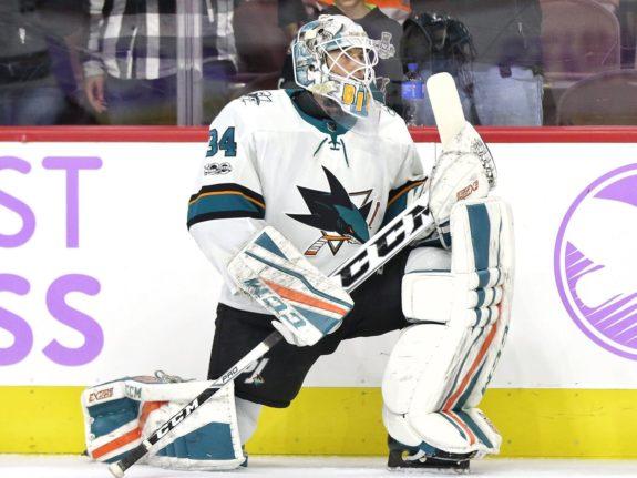 Antoine Bibeau San Jose Sharks