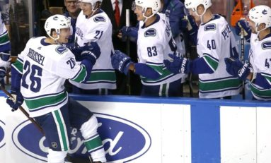 Canucks' Roussel Will Be a Fan Favourite