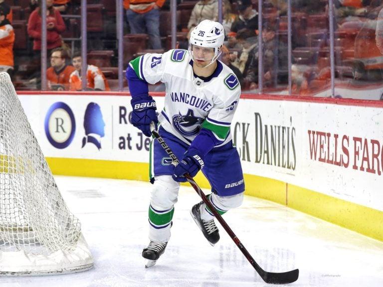 Antoine Roussel Vancouver Canucks