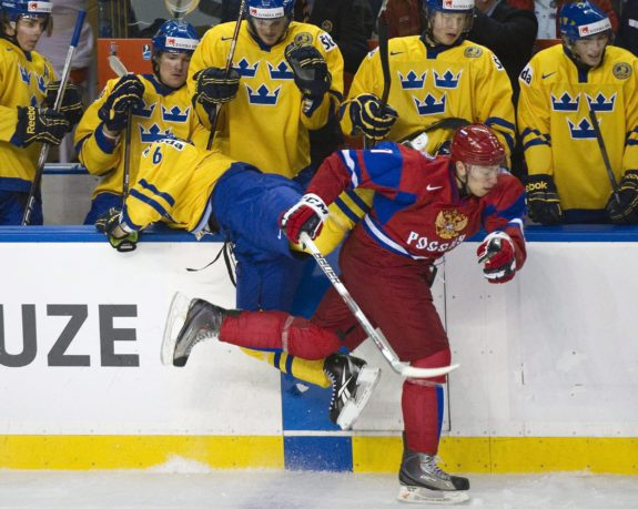 Oilers Could Be Ideal Fit For Burdasov
