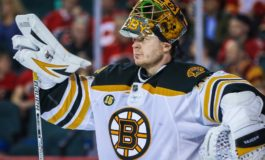 Khudobin Is Key for Bruins Crease