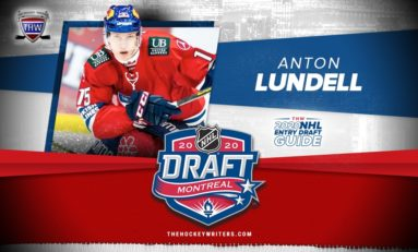 Panthers Pick Anton Lundell 12th Overall