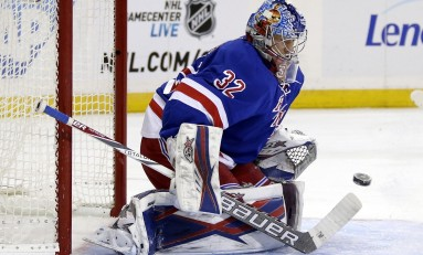 Raanta Valuable for Rangers on Two Fronts