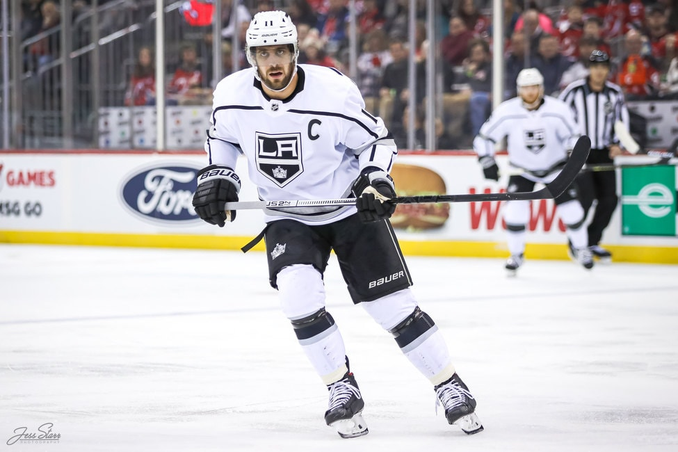 Kings' Kopitar Is Off to Sizzling Start to 2021-22