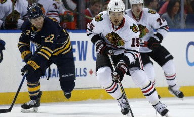 Artem Anisimov Key Factor In Chicago