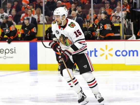 Artem Anisimov Chicago Blackhawks