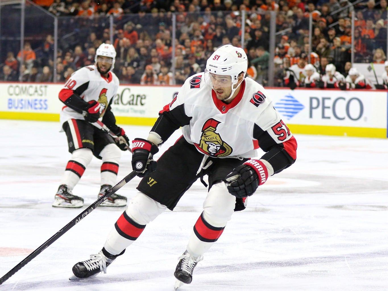 Artem Anisimov Ottawa Senators