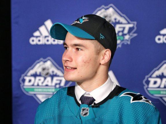Artemi Kniazev San Jose Sharks Draft