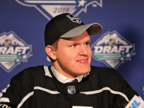Arthur Kaliyev Los Angeles Kings Draft