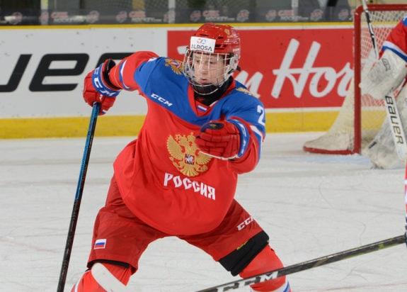 Artyom Grushnikov Team Russia