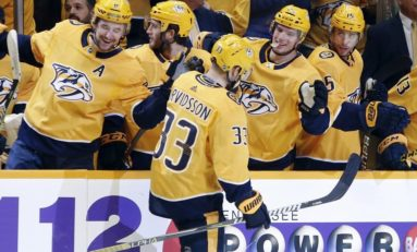 Predators' Arvidsson Having Franchise-Best Season