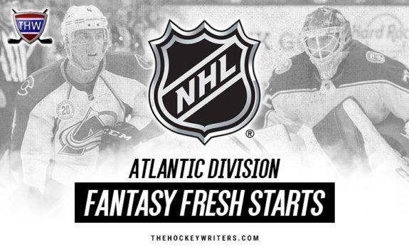 NHL Fantasy Fresh Starts Atlantic Division Tyson Barrie Sergei Bobrovsky