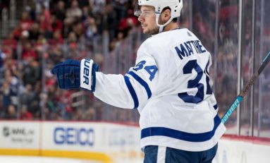 Maple Leafs' Matthews Ready to Return Tomorrow