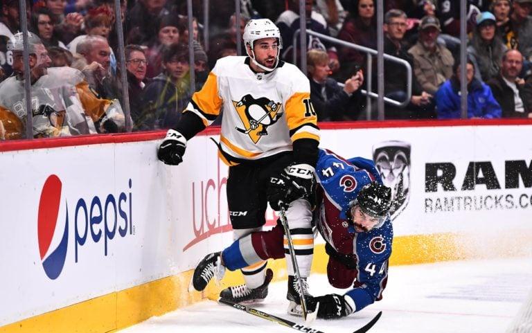 Colorado Avalanche Mark Barberio Pittsburgh Penguins Garrett Wilson