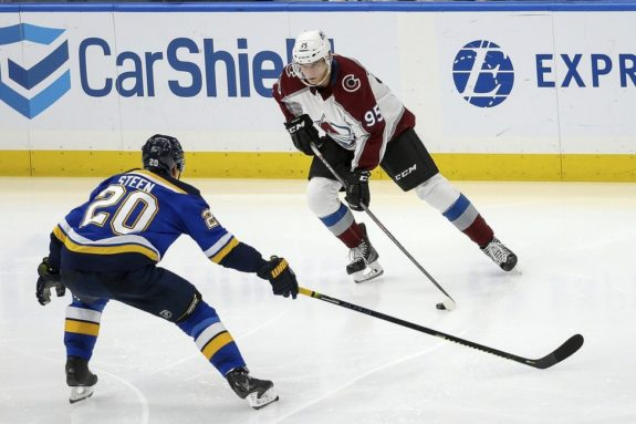 Colorado Avalanche Andre Burakovsky St. Louis Blues Alexander Steen