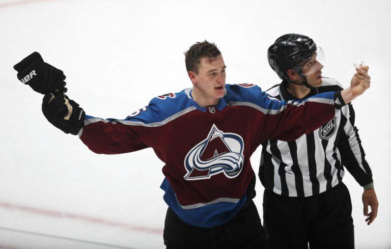 Colorado Avalanche defenseman Nikita Zadorov