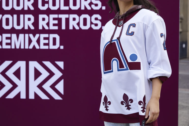 Colorado Avalanche Reverse Retro jersey